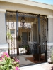 Decorative fully enclosed Courtyard Entry Gate