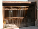 8' tall decorative patio gate